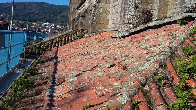 Restauración da Cuberta da Capela lateral e outras reparacións na igrexa de San martiño de Noia