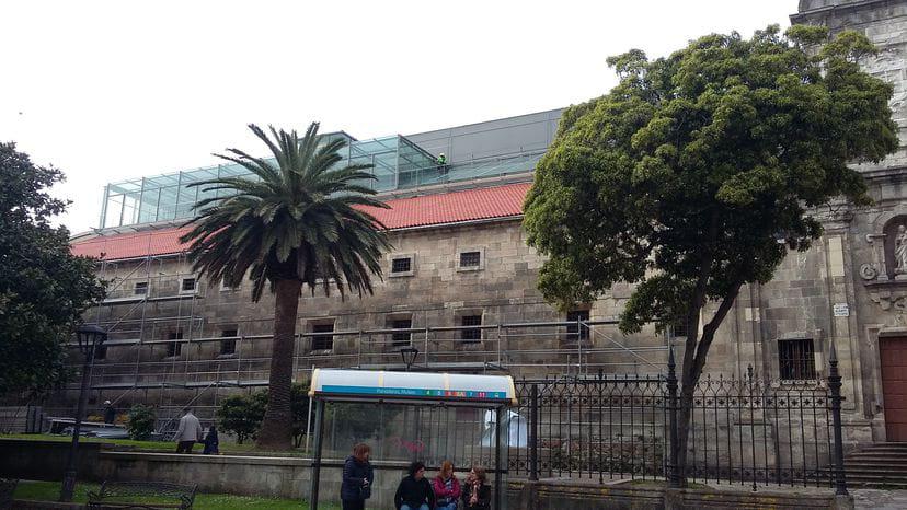Obras de reparacións urxentes no museo de Belas Artes da Coruña